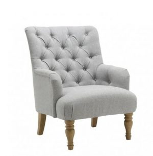Padstow Armchair in Grey