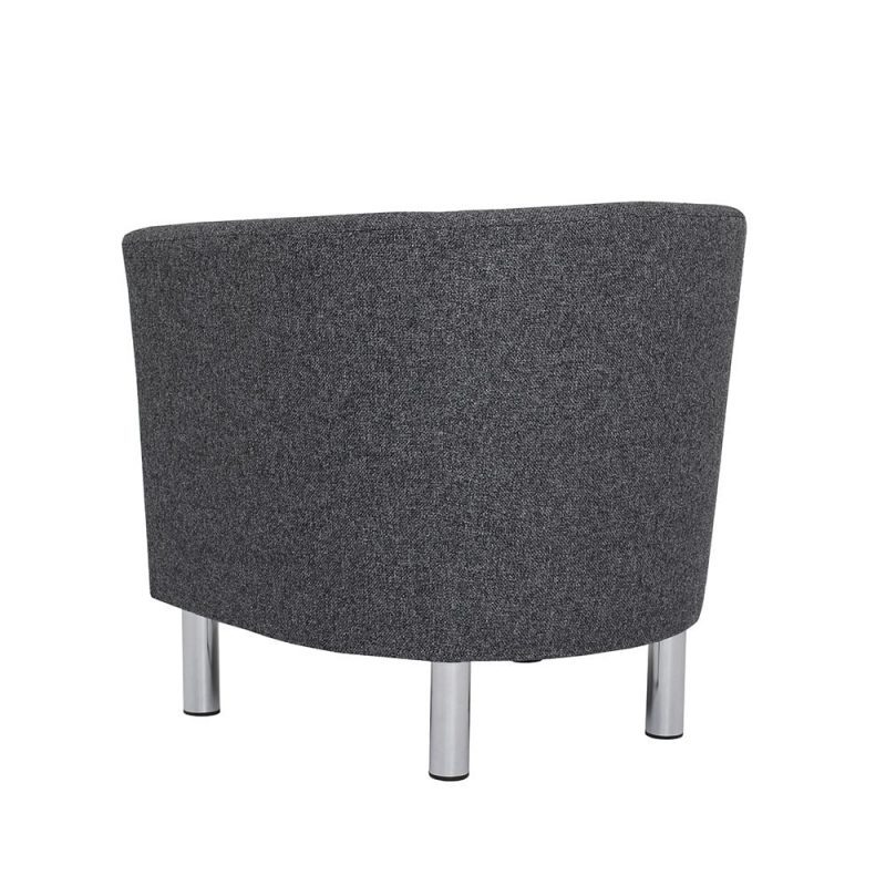 Cleveland Armchair in Nova Antracit Back