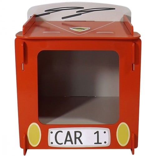 Racing Car Bedside Front