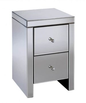 Seville 2 Drawer Bedside Table