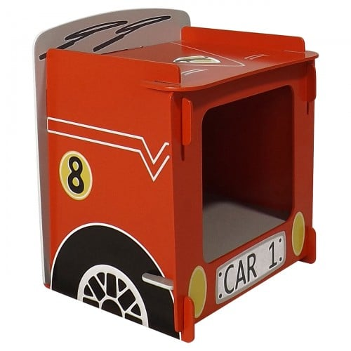 Racing Car Bedside Side
