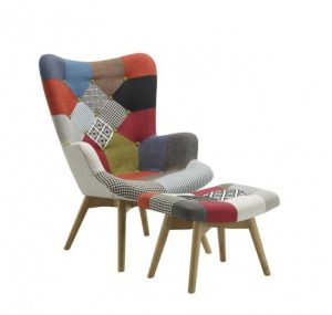 Sloane Armchair and Stool
