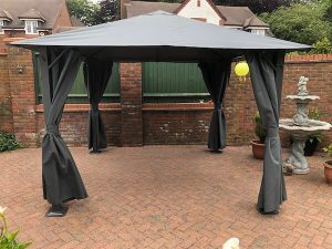 Glendale Highfield Grey Gazebo